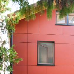 Extension ossature bois avec panneau Equitone (Crédit Photo : Pascale Rousseau - http://www.flickr.com/photos/mi-crobe/