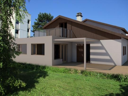 Maison avec extension
